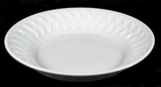 porcelaine de sologne limoges france louisiane basketweave white soup bowl s ebay. Black Bedroom Furniture Sets. Home Design Ideas
