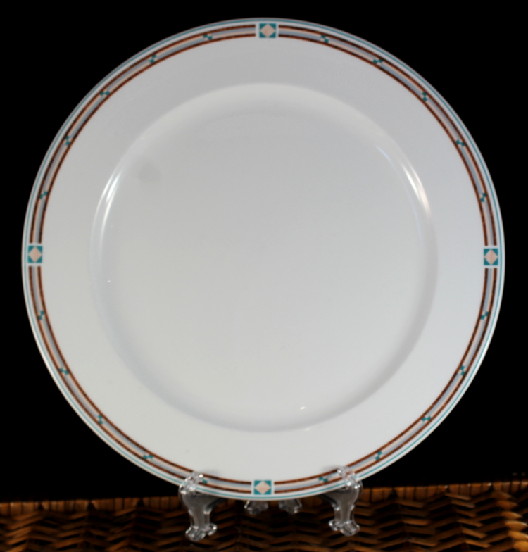LENOX DECOR DAKOTA 4 DINNER PLATES SET PLATE SET EBay