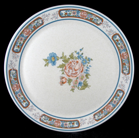 temperware temper ware sonata rose 2 dinner plates plate set ebay